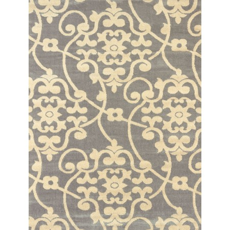 Jardin Grey Area Rug - Transitional Style Area Rug