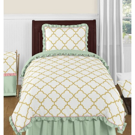 Ava Bedding Set - 4 Piece Twin Size By Sweet Jojo Designs
