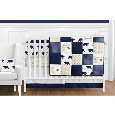 Big Bear 11 Piece Bumperless Crib Set by Sweet Jojo Design