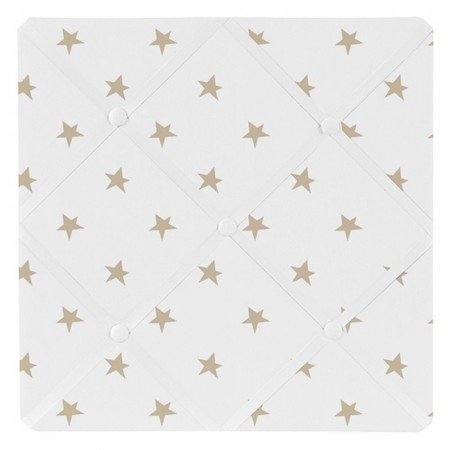 Celestial Pink & Gold Fabric Memo Board