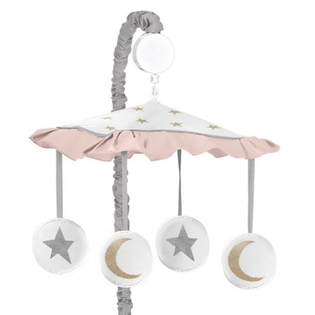 Celestial Pink & Gold Mobile