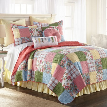 Sunny Patch Full/Queen Size Quilt - 90  X  90