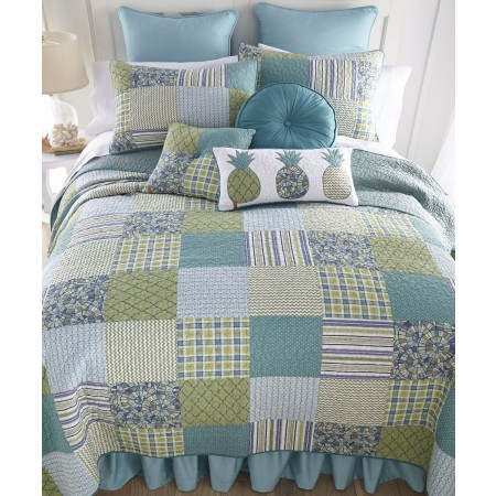 Riptide Patch Queen Quilt  - 90  X  90
