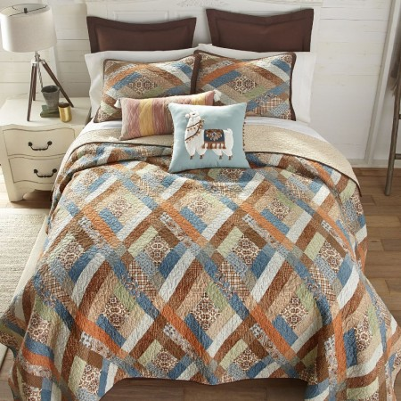 Sienna Full/Queen Size Quilt  - 90  X  90