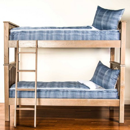 Dungaree Twin Size Bunkie - Includes Pillow Sham