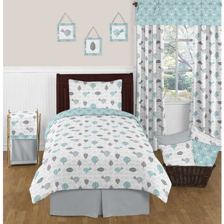 Earth and Sky Bedding Set - 4 Piece Twin Size By Sweet Jojo Designs