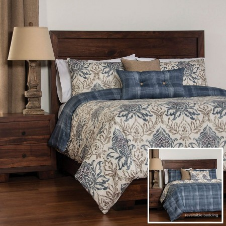 Genoa Duvet Set from the Studio Bedding Collection