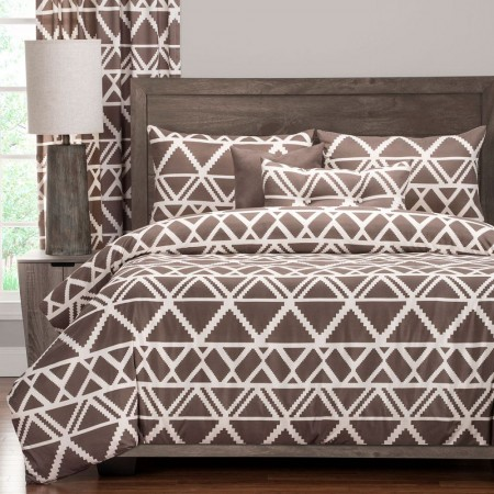 Geo Tribe Duvet Set from the Studio Bedding Collection
