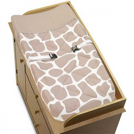 Giraffe Changing Pad Cover by Sweet Jojo Designs