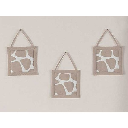 Giraffe Wall Hanging by Sweet Jojo Designs