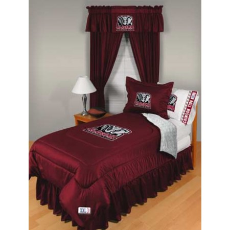 Alabama Crimson Tide Locker Room Queen Size Comforter Set - Closeout