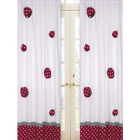 Little Ladybug Window Panels