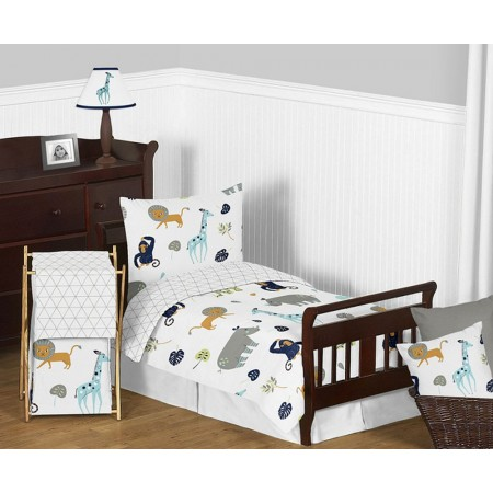 Mod Jungle Toddler Bedding Set By Sweet Jojo Designs