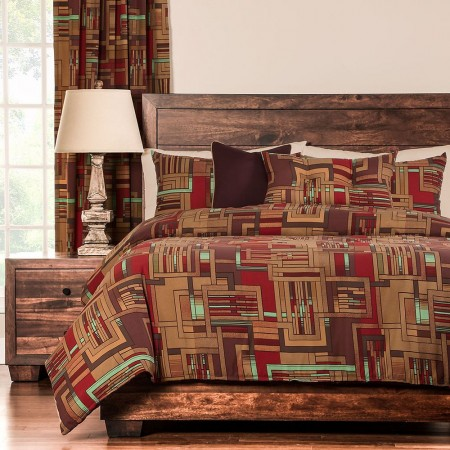 Mission Statement Duvet Set from the Studio Bedding Collection