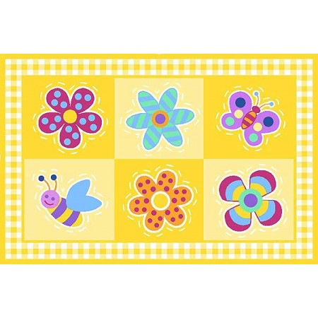 Fun Rugs Flowerland Rug by Olive Kids