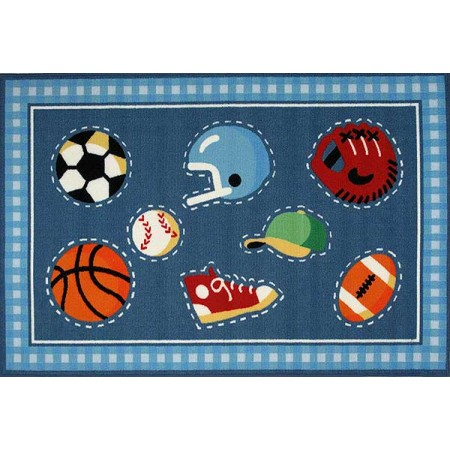Fun Rugs Go Team Rug by Olive Kids