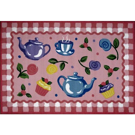 Olive Kids Tea Party Accent Rug from Fun Rugs