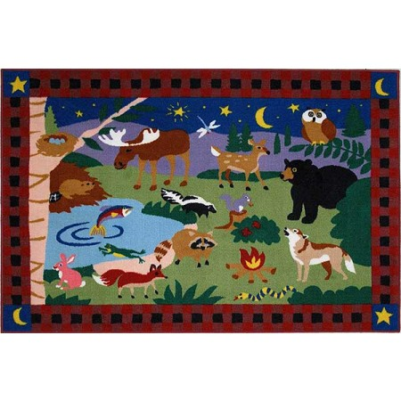 Fun Rugs Campfire Friends Rug by Olive Kids