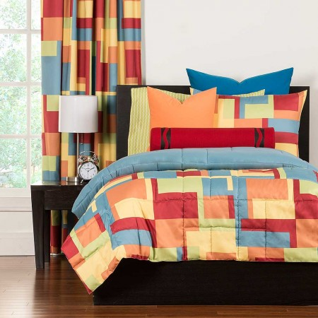 Paint Box Comforter Set from Crayola