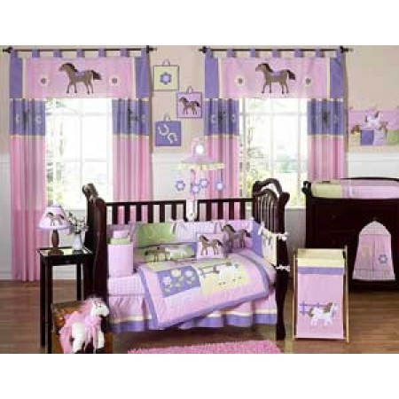 Pony Crib Set by Sweet Jojo Designs