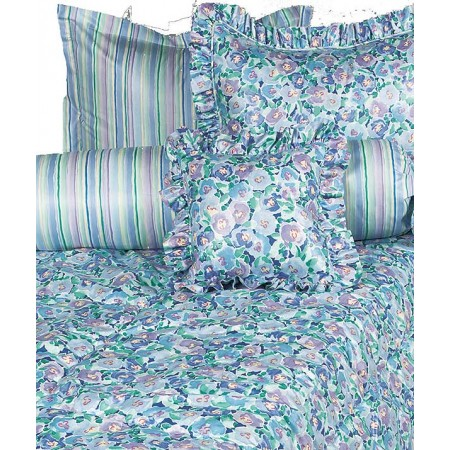 Posie Blue Bunkbed Topper 4 Corner Hugger Comforters by California Kids
