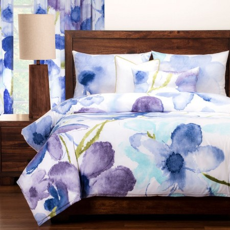 Painted Petals Duvet Set from the Studio Bedding Collection