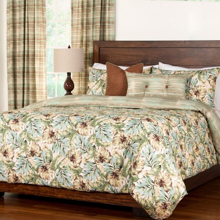 Panama Beach Duvet Set from the Studio Bedding Collection