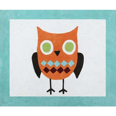 Hooty the Owl Floor Rug