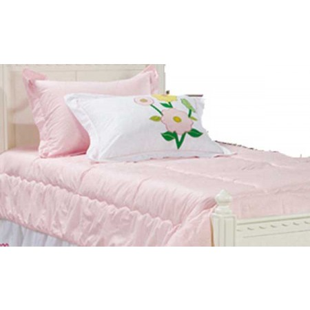 Spring Garden Pink Gingham Bunk Bed Hugger Comforter by California Kids