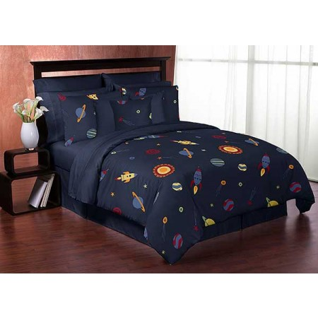 Space Galaxy Comforter Set - 3 Piece Full/Queen Size By Sweet Jojo Designs
