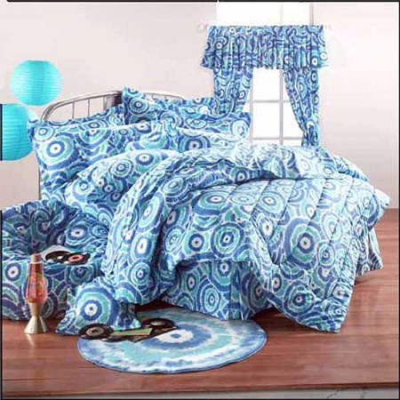 Spiro Gyro Print Bunk Bed Hugger Comforter by California Kids
