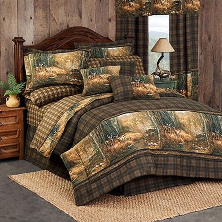 Whitetail Birch Comforter Set - King Size - Clearance