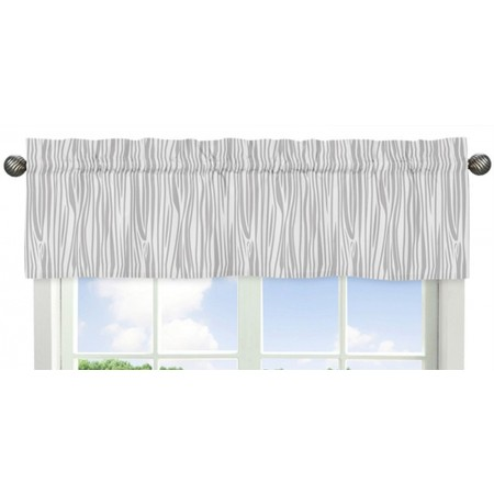 Woodsy Coral, Mint & Grey Valance