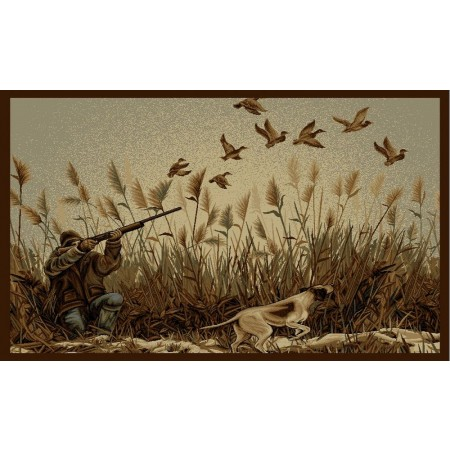 WILDERNESS-766 Duck Hunting Area Rug - Wilderness Collection