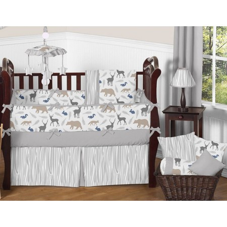 Woodland Animals Crib Set by Sweet Jojo Designs