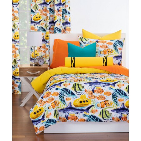 Yellow Submarine Comforter Set from Crayola