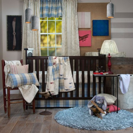 Air Traffic 3 Piece Crib Set