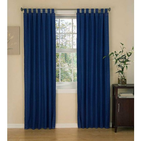 American Denim Tab Top Curtain Panels