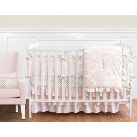 Amelia 11 Piece Bumperless Crib Set by Sweet Jojo Design