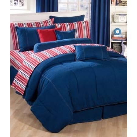 American Denim Duvet Cover