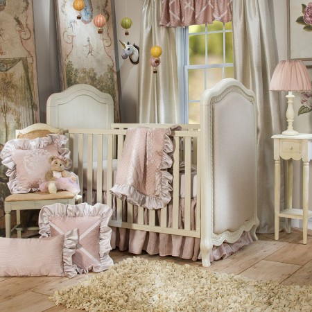 Angelica 3 Piece Crib Set