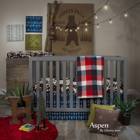 Aspen 3 Piece Crib Set (Redesign)