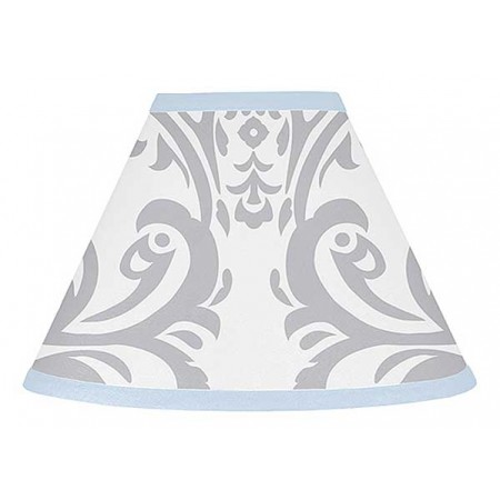 Avery Blue Lamp Shade