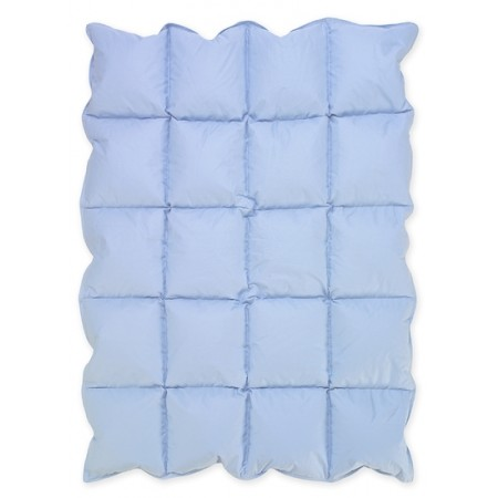 Baby Blue Down Alternative Comforter / Blanket - Crib Size
