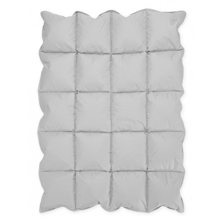 Grey Down Alternative Comforter / Blanket - Crib Size