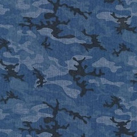 Blue Camo Bunkbed Hugger Comforter by California Kids