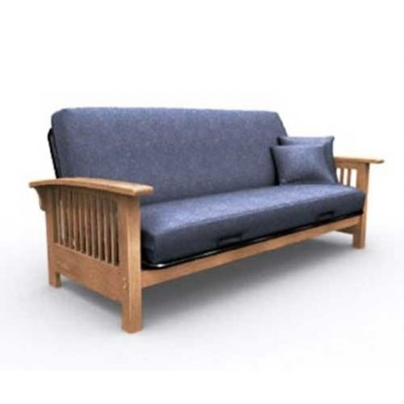 Blue Jean Denim Futon Cover Dark