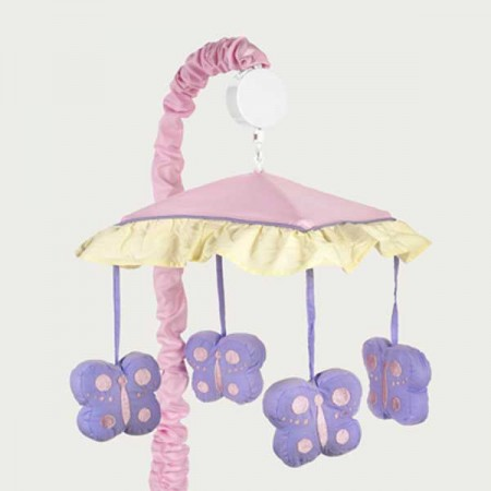 Butterfly Pink & Lavender Mobile