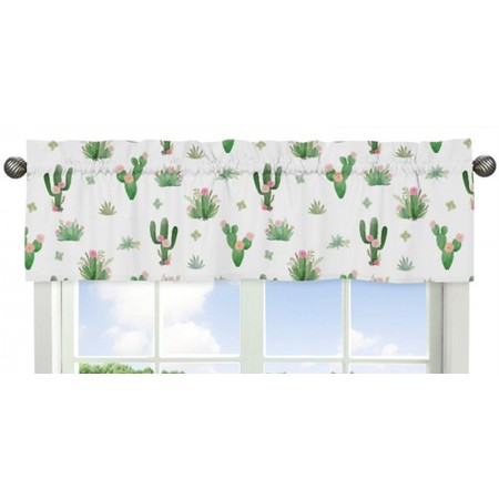 Cactus Floral Valance