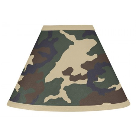 Green Camouflage Lamp Shade